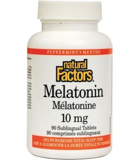 МЕЛАТОНИН 10 МГ Х 90 NATURAL FACTORS