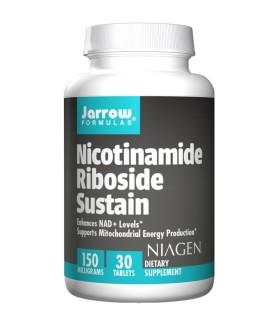 Никотинамид рибозид хлорид 150 мг х 30 табл. Джароу Формулас