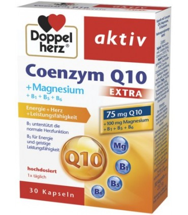 Допелхерц актив Коензим Q10 + Магнезий ЕКСТРА капс. х 30