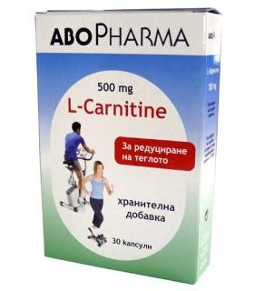 АБОФАРМА L-КАРНИТИН Х 30 КАПС.